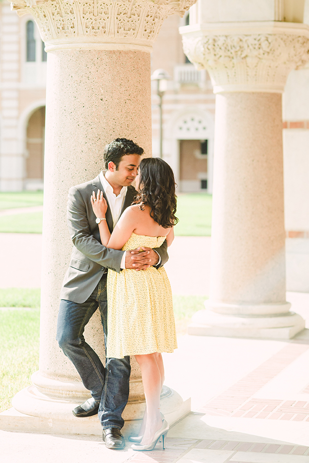 Rice University Engagement Shoot