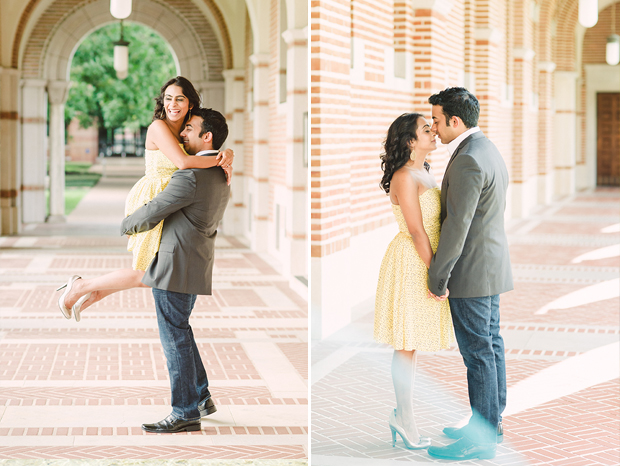 Engagement Shoot Photographer's Image at Rice University