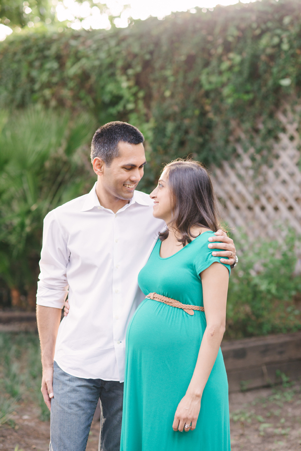 couple expecting and in love