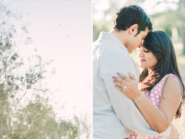 Couple's portrait session in Houston
