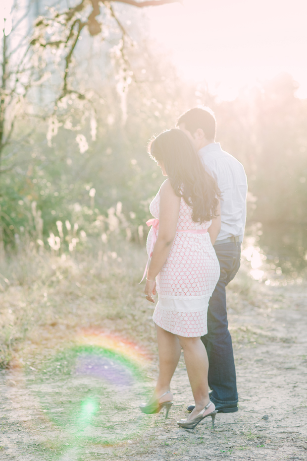 Maternity Couple's Shoot in Houston
