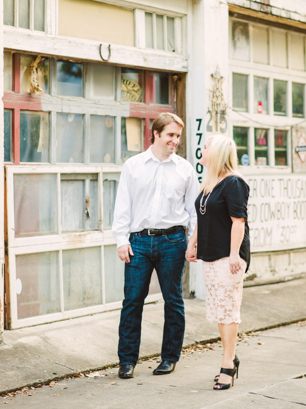 Houston Engagement Photo in Natural Light