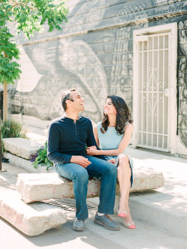 hayes valley san francisco engagement portraits