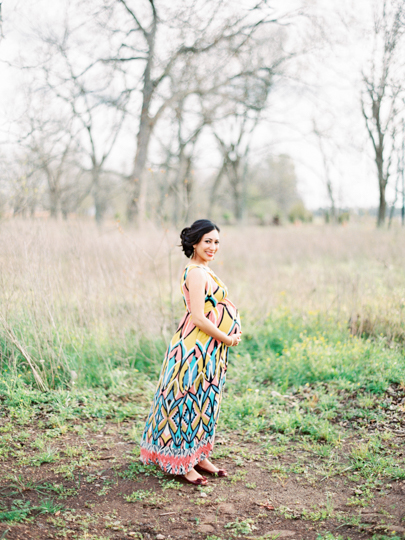 Houston Film Maternity Photographer