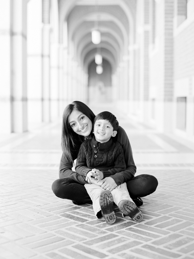Rice University Family Photographer