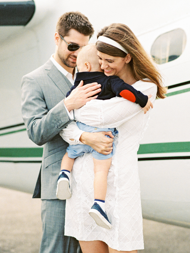 Houston Airline Terminal Museum Family Session